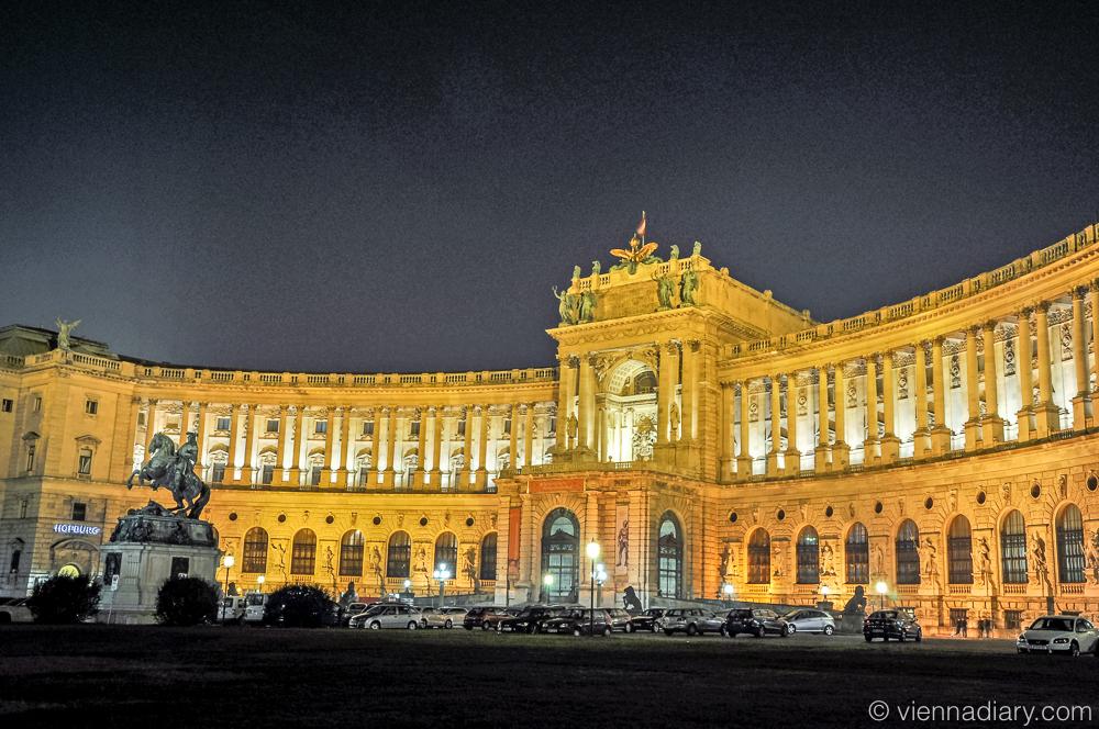 Places to visit in Vienna: Hofburg