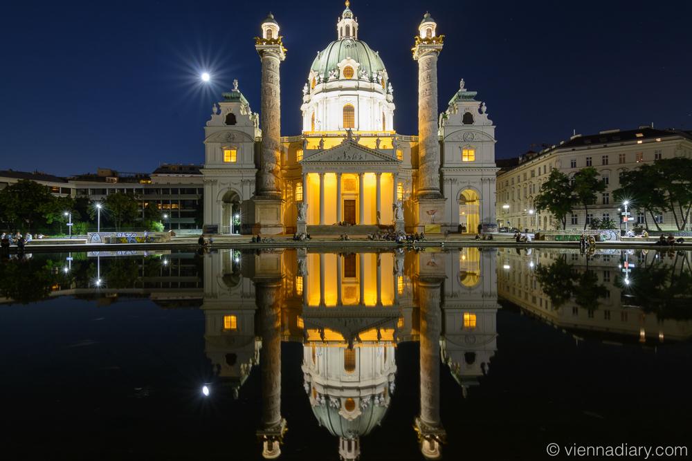 Vienna Photo Locations: Karlskirche