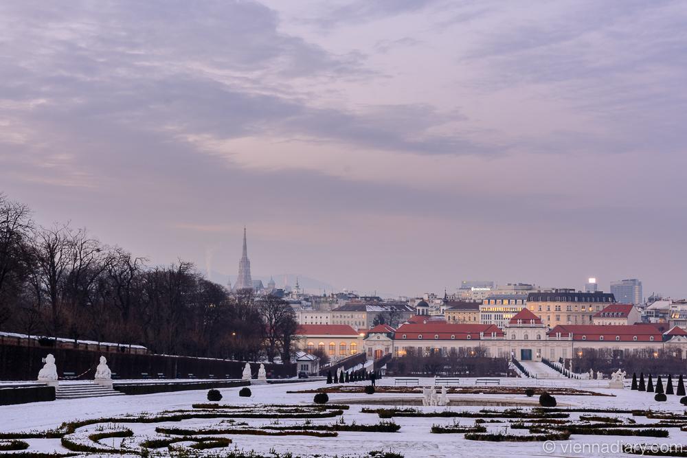 Vienna Photo Locations: Upper Belvedere