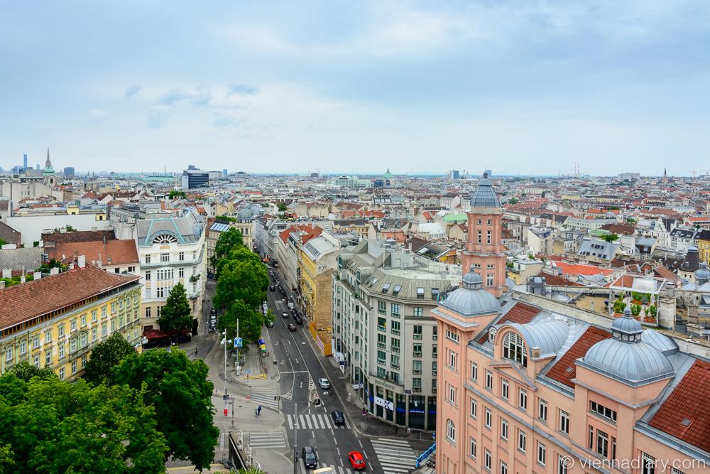 Vienna photo locations: Flakturm