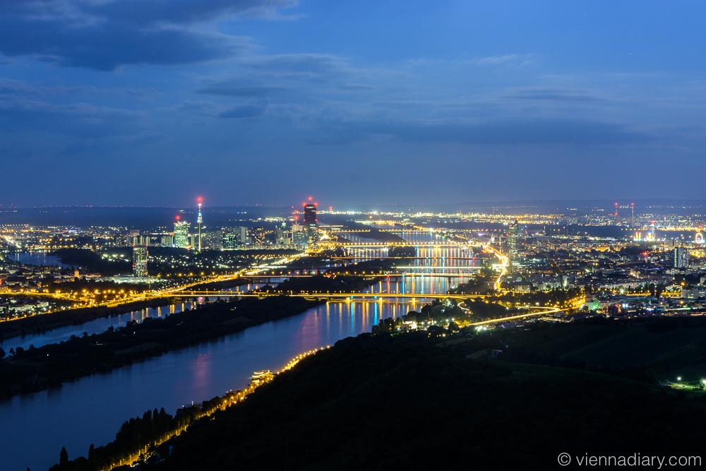 Vienna photo location: Leopoldsberg